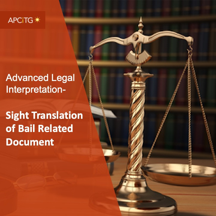 ALI 6 Sight Translation of Bail Related Document