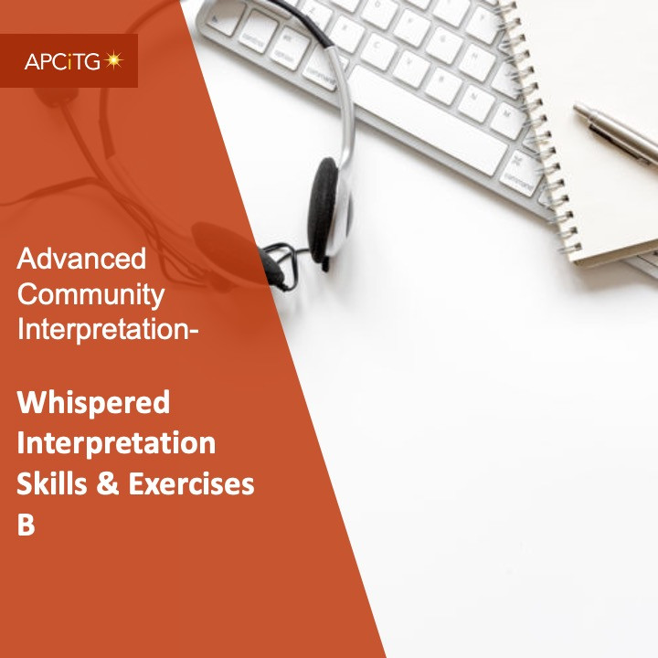 ACI 9 Whispered Interpretation Skills & Exercises B