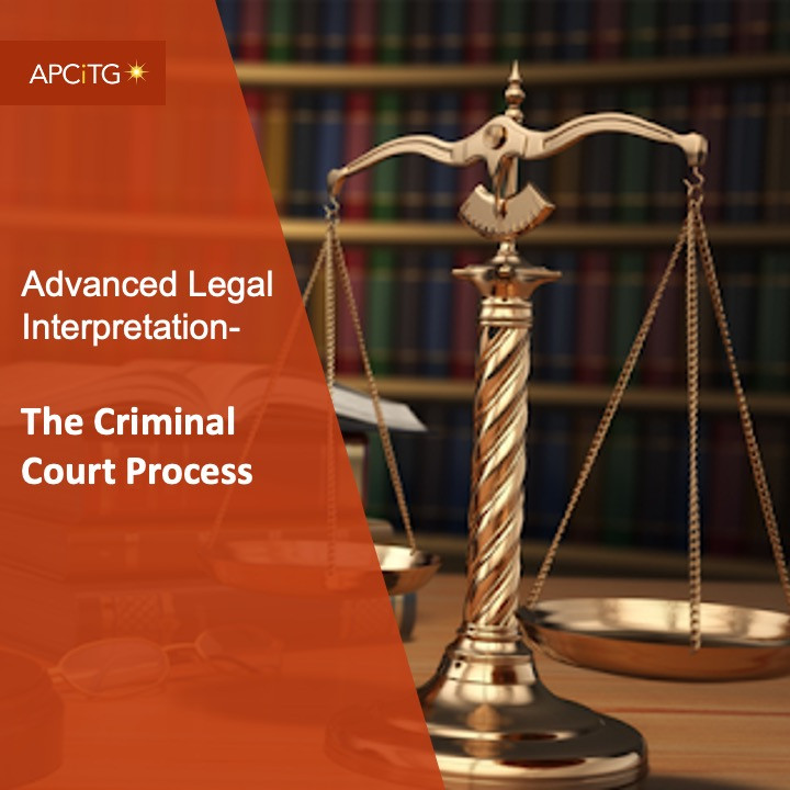 ALI 4 The Criminal Court Process