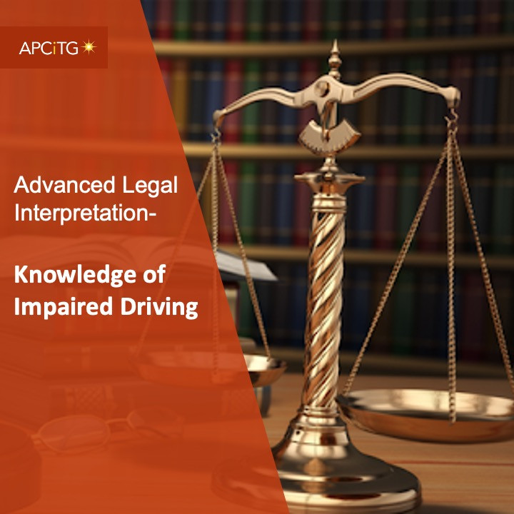 ALI 12 Knowledge of Impaired Driving