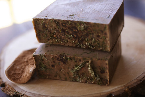Chocolate Mint Infused Soap