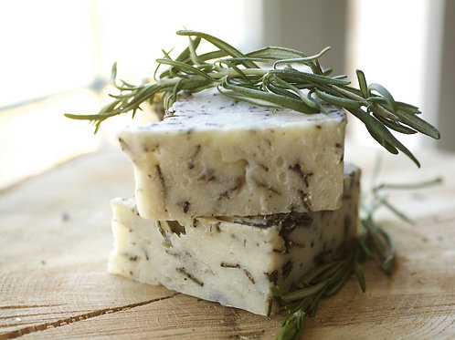 Rosemary + Thyme Infused Soap or Shampoo Bar