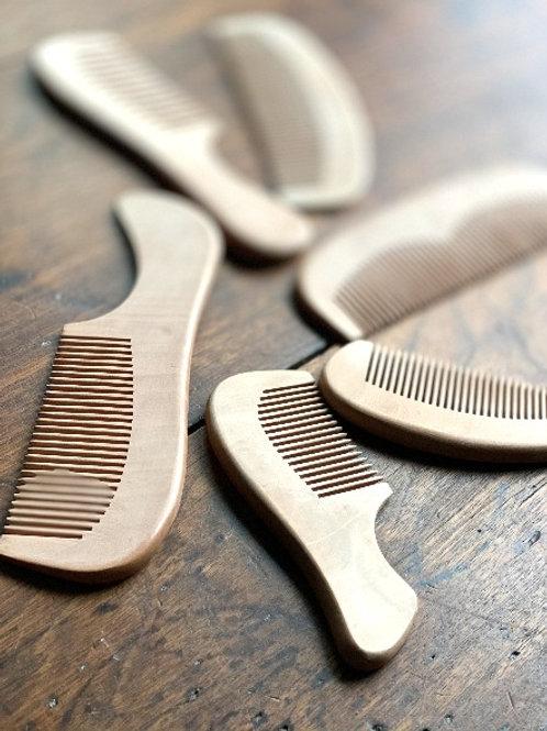Eco-Friendly Wooden Comb
