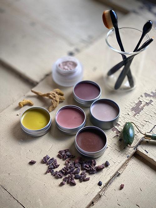 Sheer + Glow All Natural Makeup Balm Set