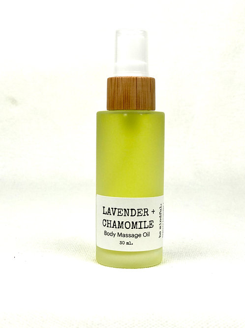 Lavender + Chamomile Body Oil