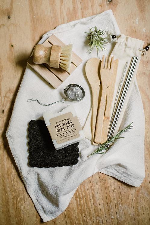 Zero Waste Kitchen Starter Set Gift Box