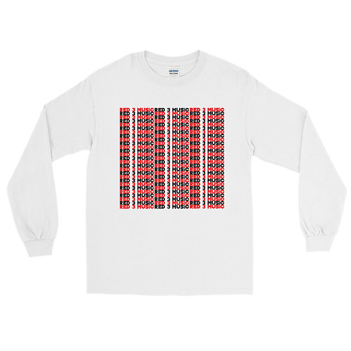 RED 3 MUSiC Long Sleeve Shirt