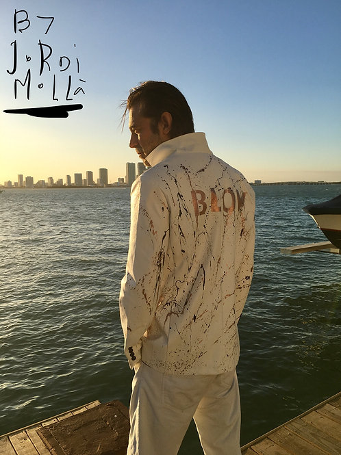 JORDI MOLLA ORIGINAL ART ON JACKET