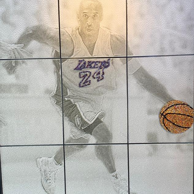 Kobe on 300,000 nails