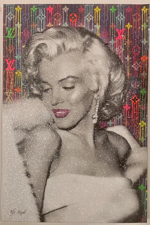 Kfir Moyal Marilyn 40x60 with crystals