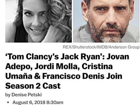Jordi Molla Jack Ryan Season 2