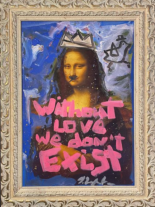 """Domingo Zapata """"Mona Lisa"""""""