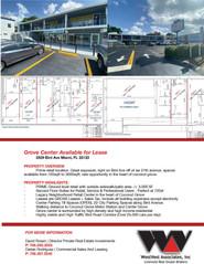 Grove center leasing brochure