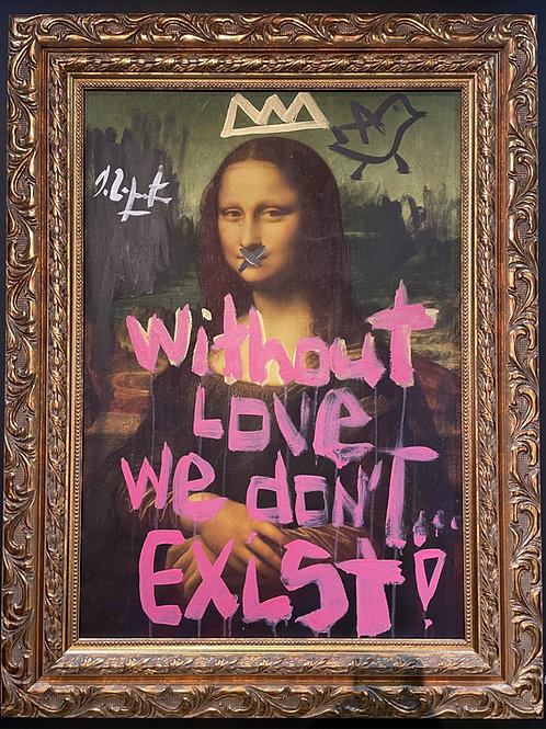 """Domingo Zapata """"without love we don't exist"""""""