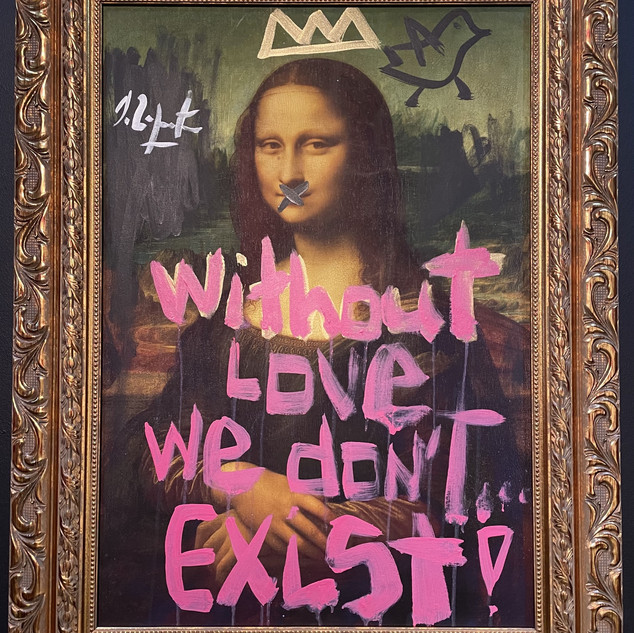 "Domingo Zapata ""Without Love we Dont Exist"""