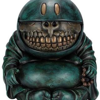 Buddha Grin : Blue