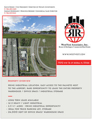 3.2 acres with 24,000 sf of warehouse/office