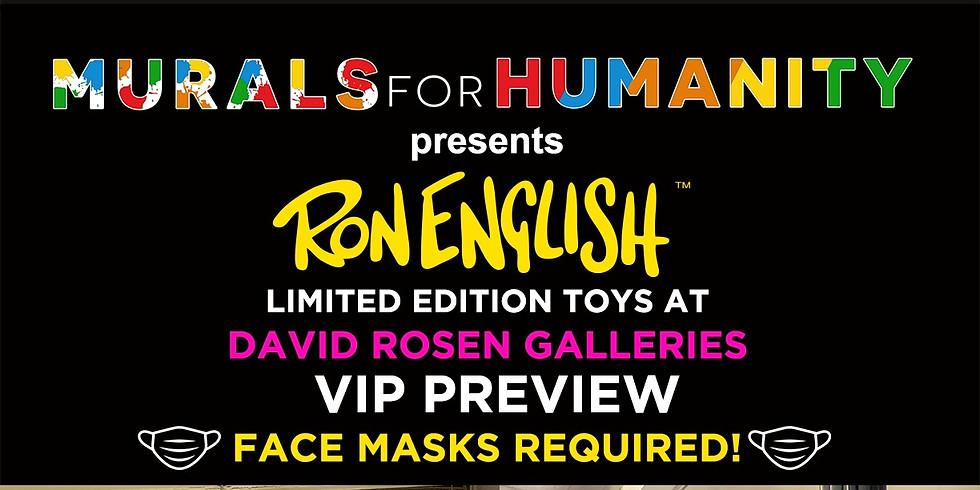 Tomorrow! Ron English VIP preview.