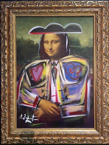 Domingo Zapata Mona Lisa