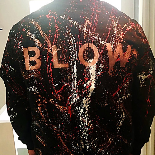 JORDI MOLLA ORIGINAL ART ON BOMBER JACKET