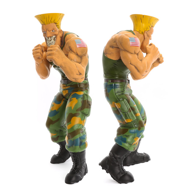 Street Fighter : Guile Grin
