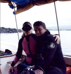 Mr. Roberto Haro and wife Gianna