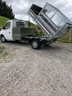 Tipper Truck Deck & Storage