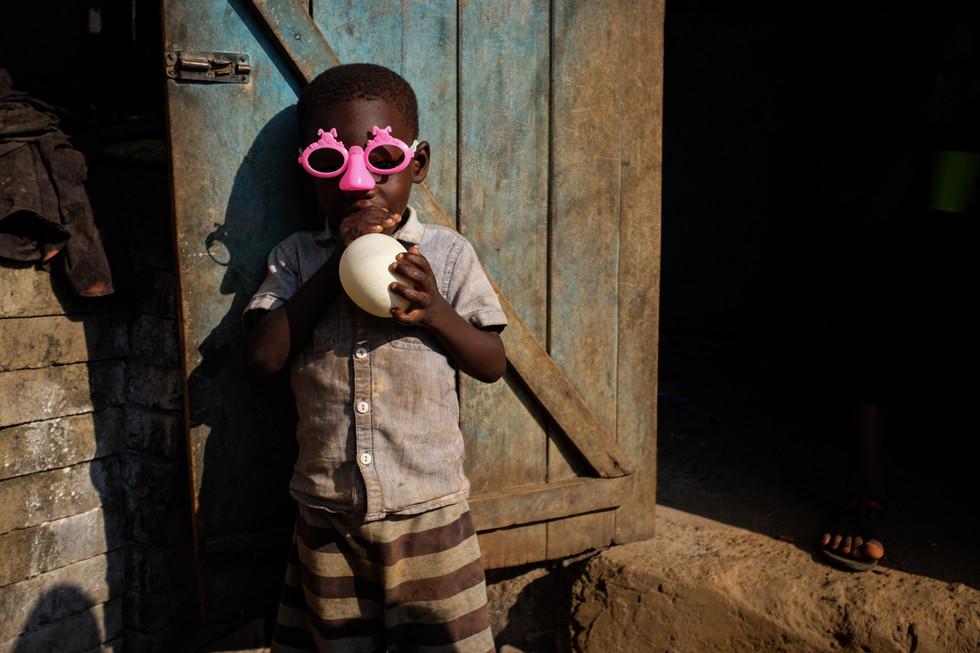 Ghana Kwaku Resized-Boy with Pink Glasse