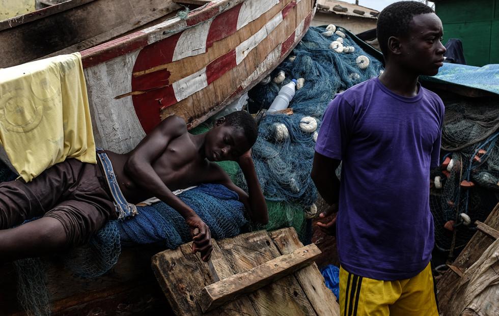 Ghana Kwaku Resized-Passing Time in Aboa