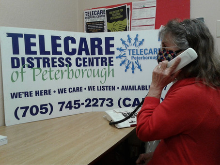 Telecare Distress Centre of Peterborough - Carrying On!