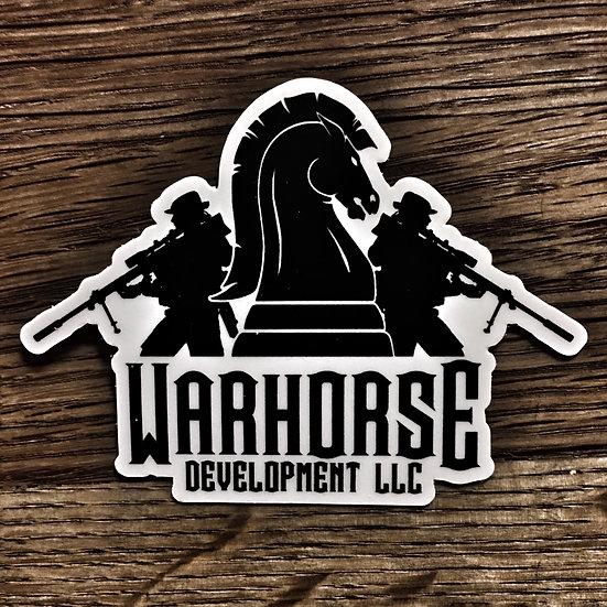 Warhorse Sticker - Medium