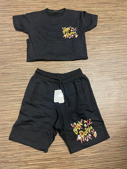 Black Short Sets