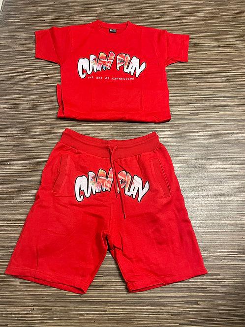 Red Short Sets