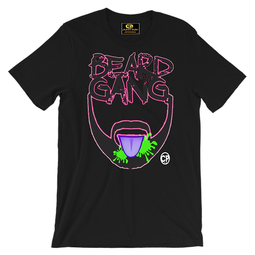 Beard Gang-Pink Green