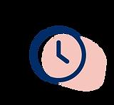 Icône d'horloge