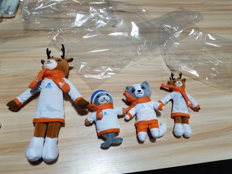 """Изготовление мягких игрушек для Международных Зимних Игр """"Дети Азии"""""""