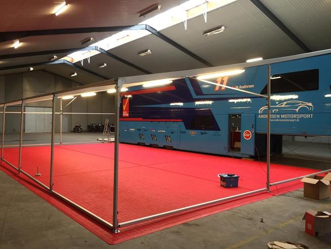 Andersen Motorsport stiller VIP Facility til rådighed