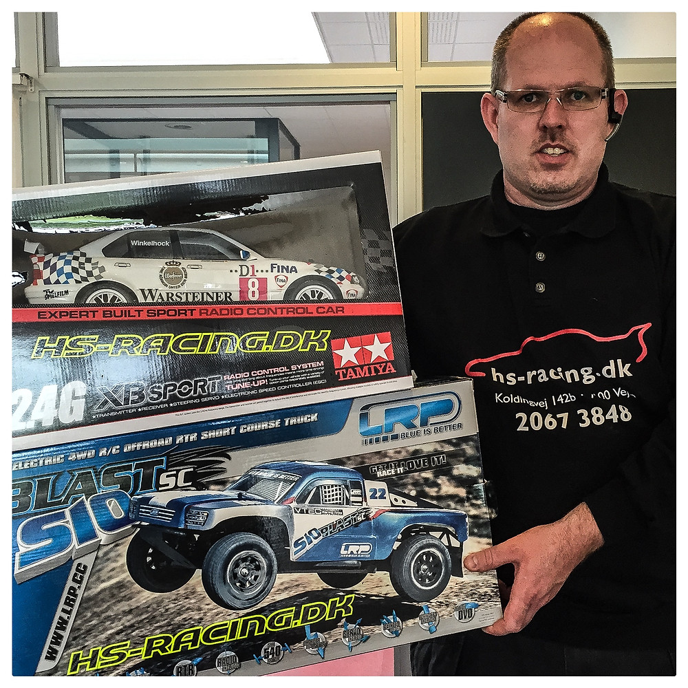 HS Racing donerer RC biler til GoCharity