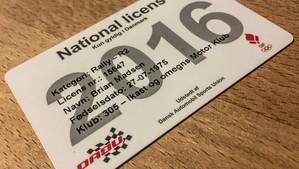 R2 National licens i hus