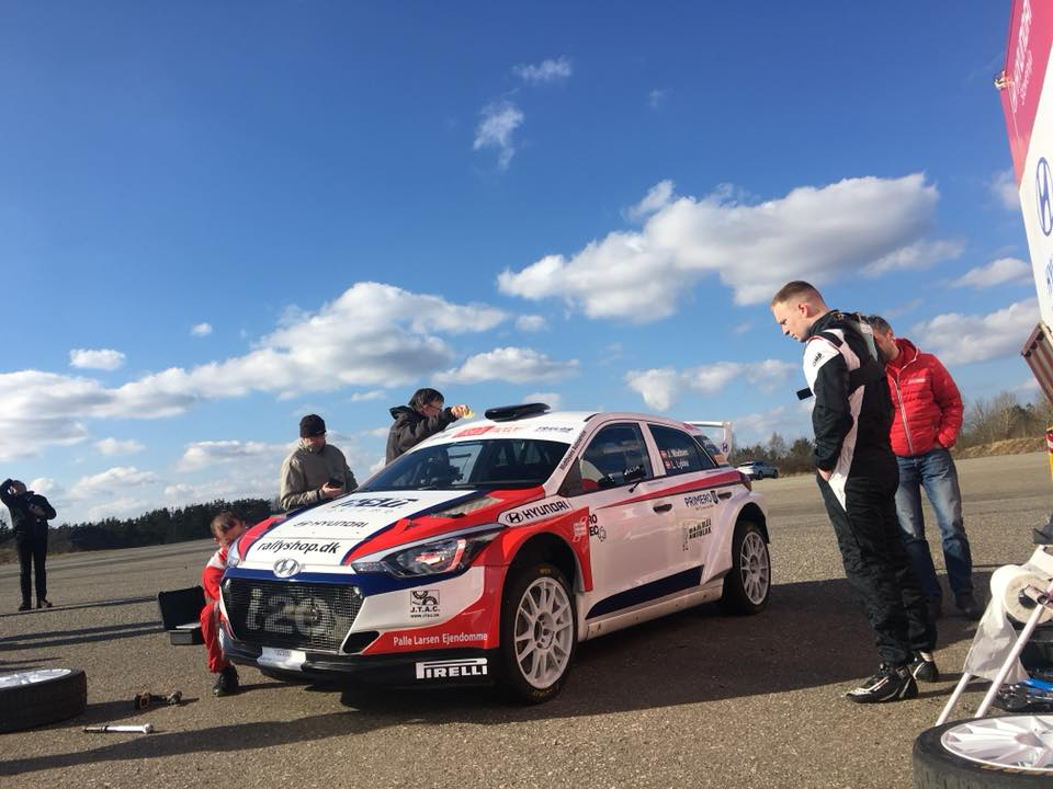 Jakob Madsen Rallying