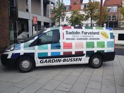Sadonlin farveland - Bil indpakning