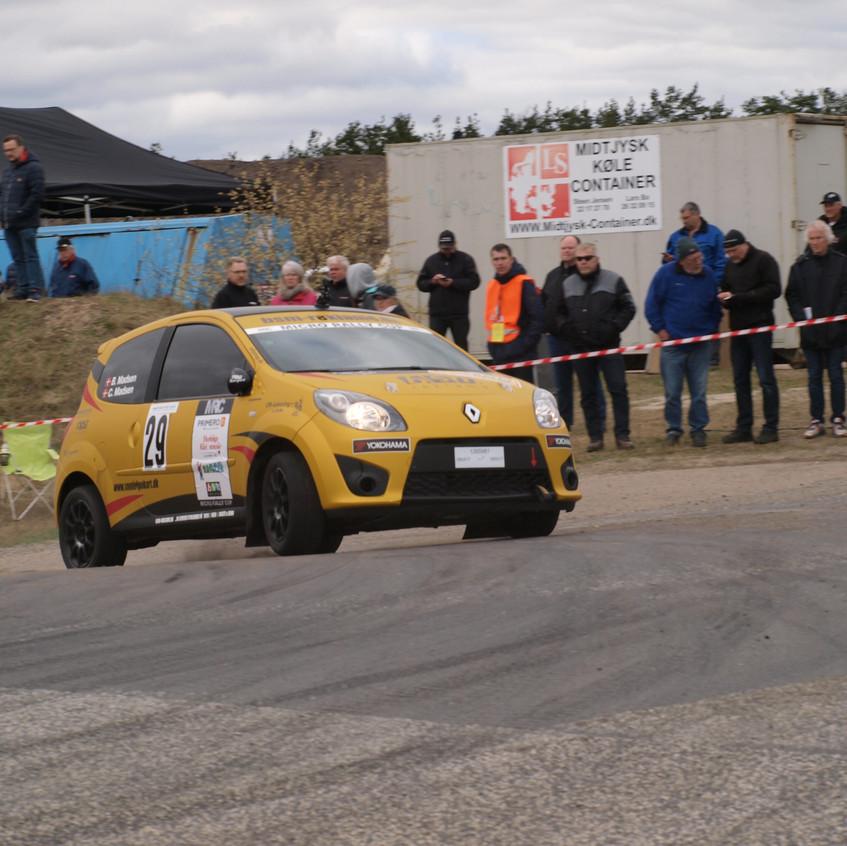 Rallysprint - Kongensbro April 2017