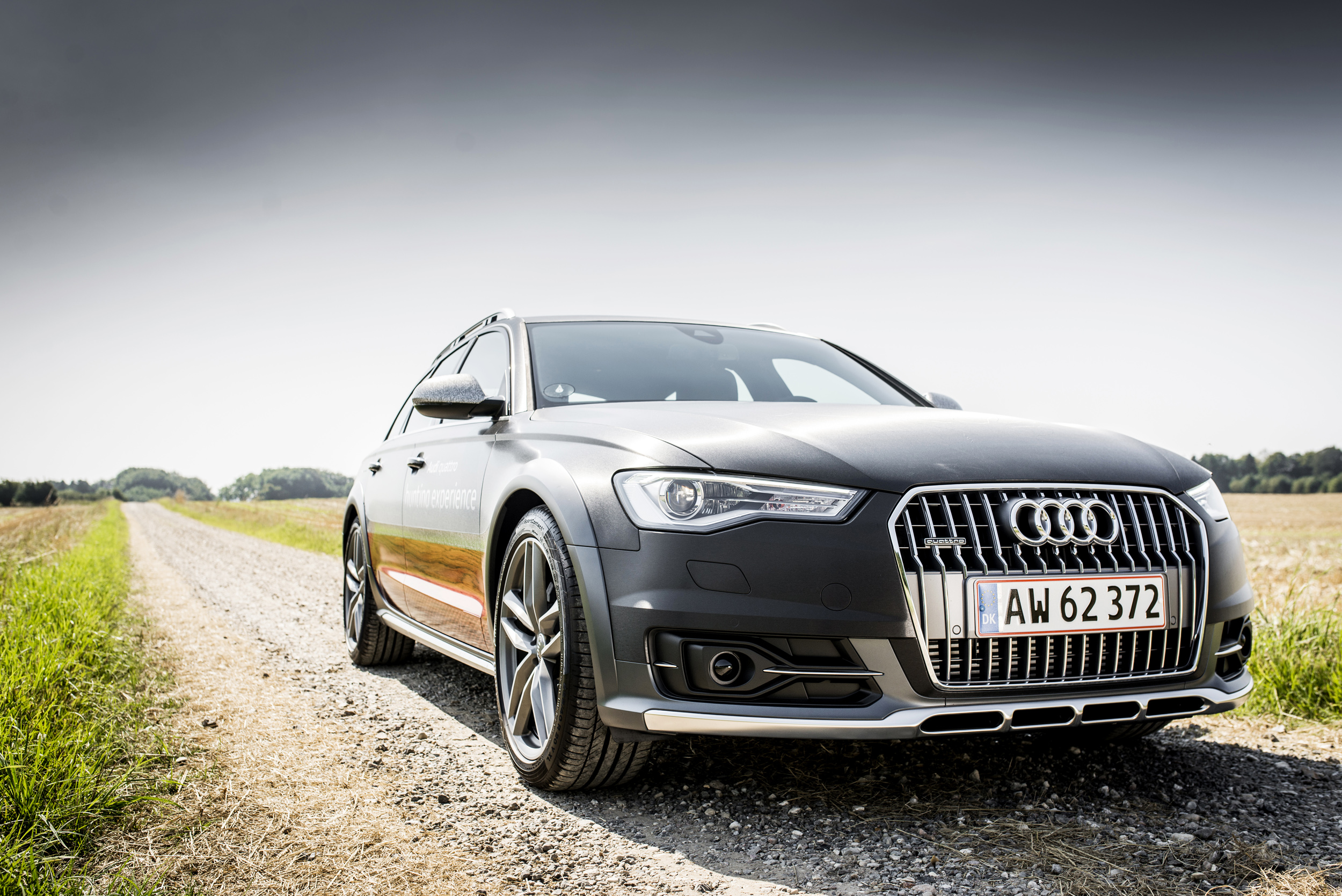 Audi A6 Allroad - hunting experience
