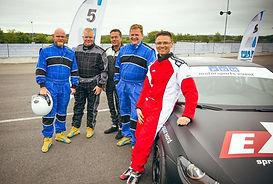 Racerkører for en dag sammen med Skov Motorsport