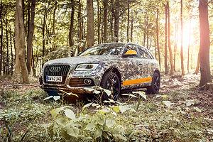 Audi - Bilindpakning og Konceptbiler
