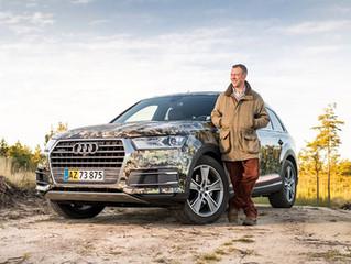 Bjergegaard Shooting i Audi, designet af BSM Reklame