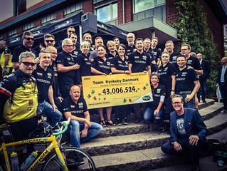 Team Rynkeby Trekanten slår alle rekorder