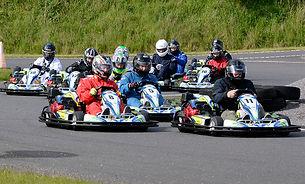 BSM Motorsport gokart arrangement hos Vandel Gokart