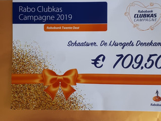 Prachtige opbrengst Rabo Clubkas Campagne