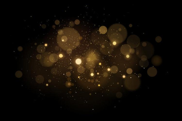effet-lumiere-magique-abstrait-reflets-dores-bokeh-fond-noir-lumieres-noel-poussiere-volan